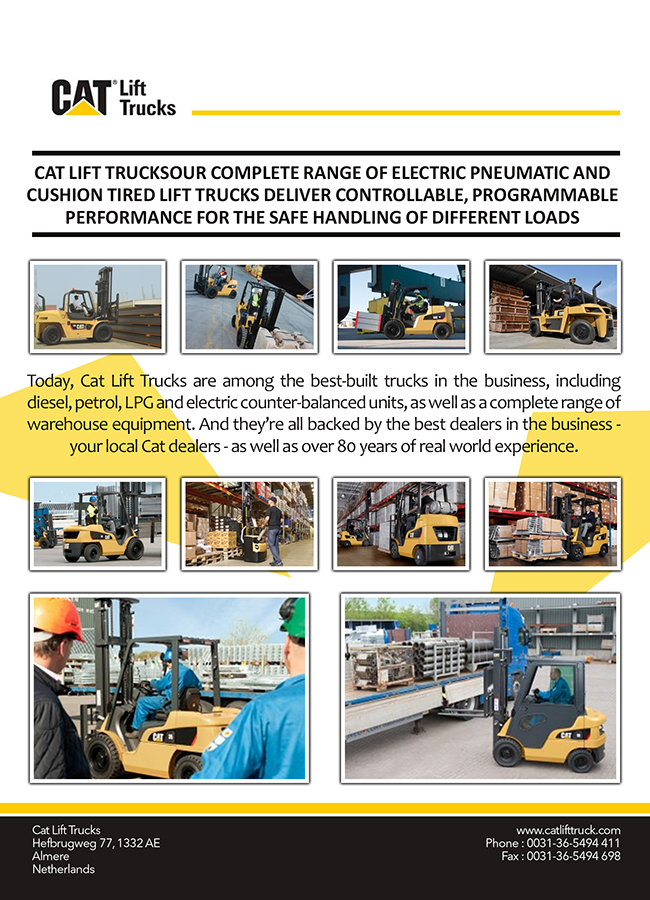 Cat Lift Trucks Diesel Engine Lift Truck Electric Forklift